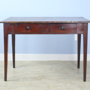 Antique Poplar and Cherry Side Table