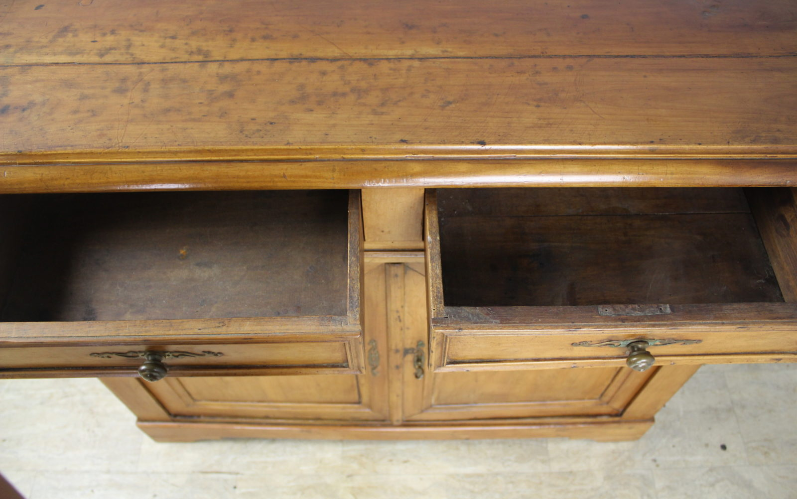 Antique French Cherry Louis Philippe Buffet Briggs House