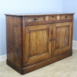 Antique Louis Philippe Elm Buffet