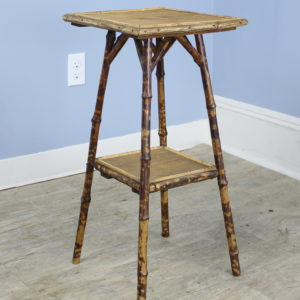Small English Bamboo Side Table
