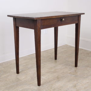 Antique French Chestnut Side Table