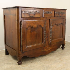 Exceptional Antique Cherry Snail Foot Buffet