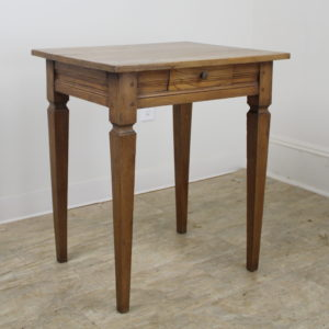 Antique French Elm Side Table *Monthly Deal*