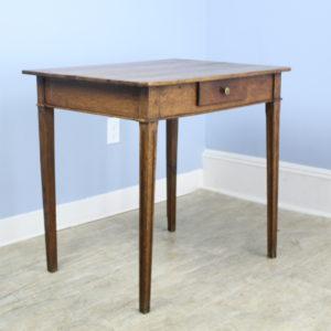 Antique Louis XV Oak Side Table
