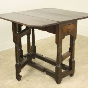 Period Welsh Oak Gate Leg Table