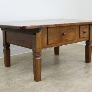 Antique Alsacian Applewood Coffee Table