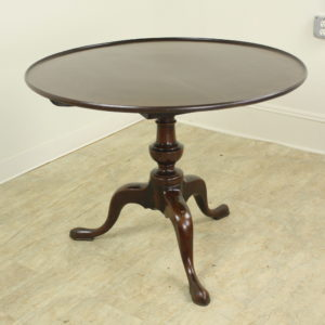 Georgian Mahogany Tilt-Top Table, Birdcage Base