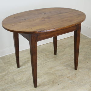 Antique Cherry Oval Occasional Table