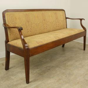 19th Century Scandanavian Fruitwood Sofa
