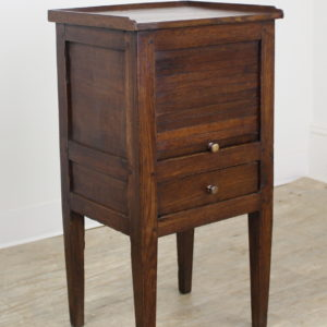 Antique Oak Tambour Fronted Side Cabinet
