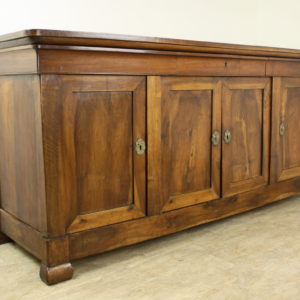 Four Door Antique French Louis Philippe,/Directoire Walnut Enfilade