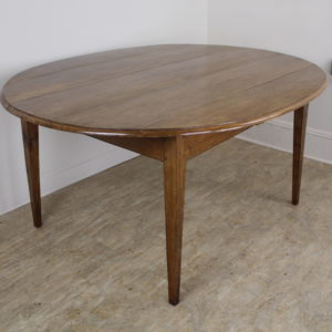 Antique Oval Cherry Dining Table, Seats Six