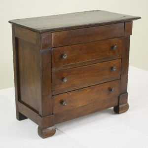 Antique Walnut Apprentice Piece Commode