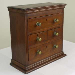 Antique Miniature Teak Chest