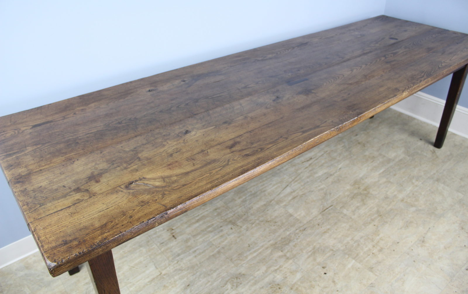 Antique Thick Top Ash Farm Table Briggs House Antiques