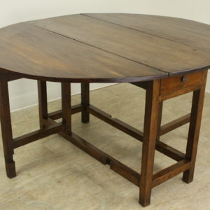 Period English Oak Gateleg Dining Table