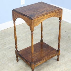 Small Antique Oak Side Table