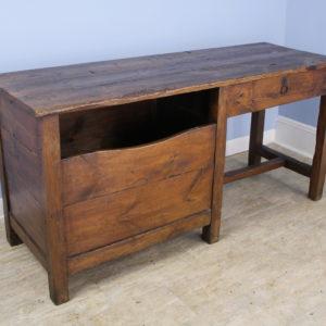 Antique Pine Breadseller's Desk