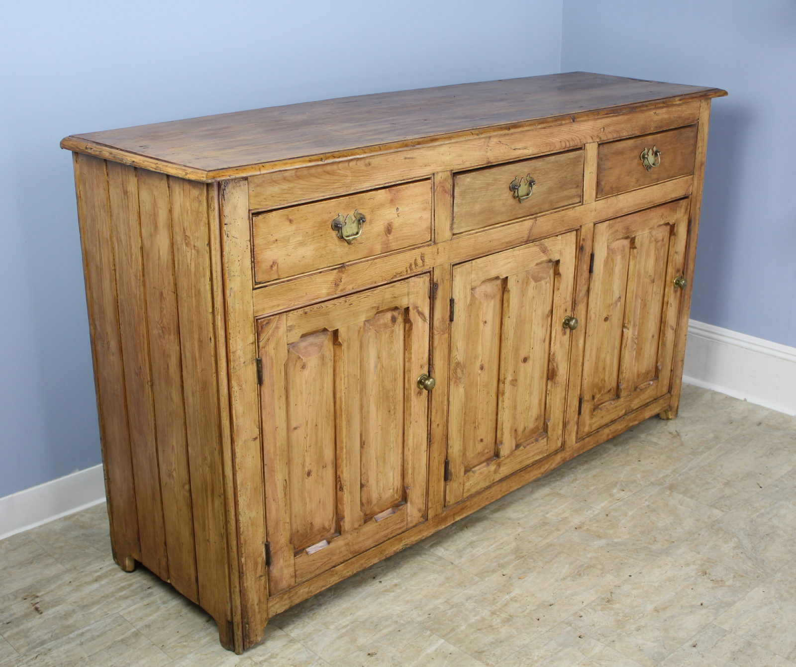Antique Welsh Pine Dresser Base Briggs House Antiques