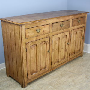 Antique Welsh Pine Dresser Base