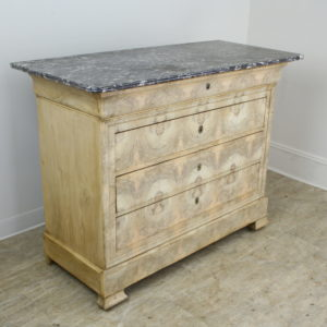 Antique French Bleached Walnut Commode
