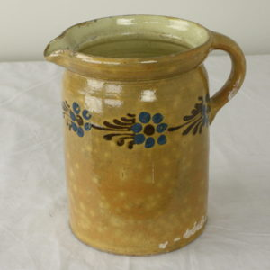 Large Decorative Alsace Jug