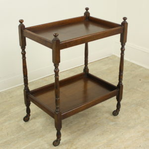 English Oak Tea Cart