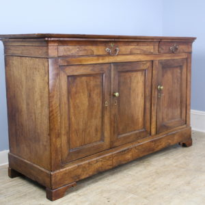 Antique Louis Philippe Walnut Enfilade