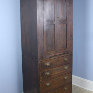 Antique Welsh Gothic Cupboard on Oak