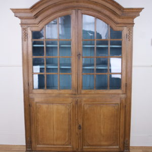 18th Century Dutch Oak Vitrine