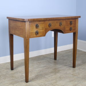 Period Georgian English Mahogany Lowboy