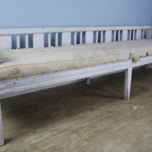 Early Swedish Sofa or Daybed, Original Paint **August's Steal**
