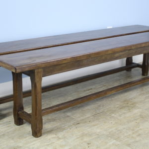 Pair of Antique Oak Benches