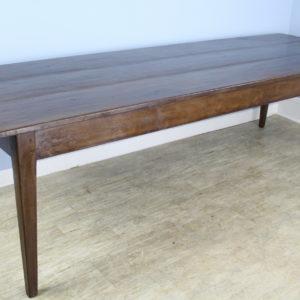 Large Antique Walnut Farm Table