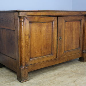 French Antique Empire Style Oak Base