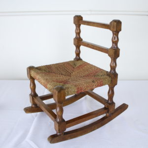 Small Antique Child's String Rocker