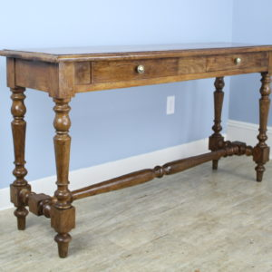 Antique French Two Drawer Oak Server
