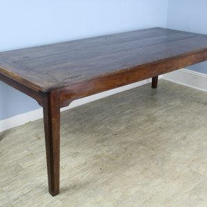 Large Antique French Chestnut Farm Table