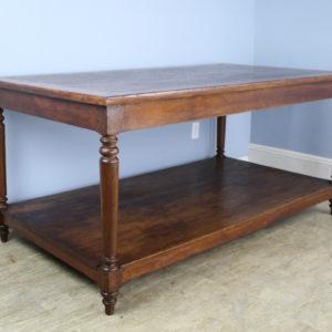 Antique Oak Draper's Table