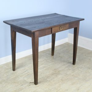 Antique Chestnut Side Table or Small Writing Table