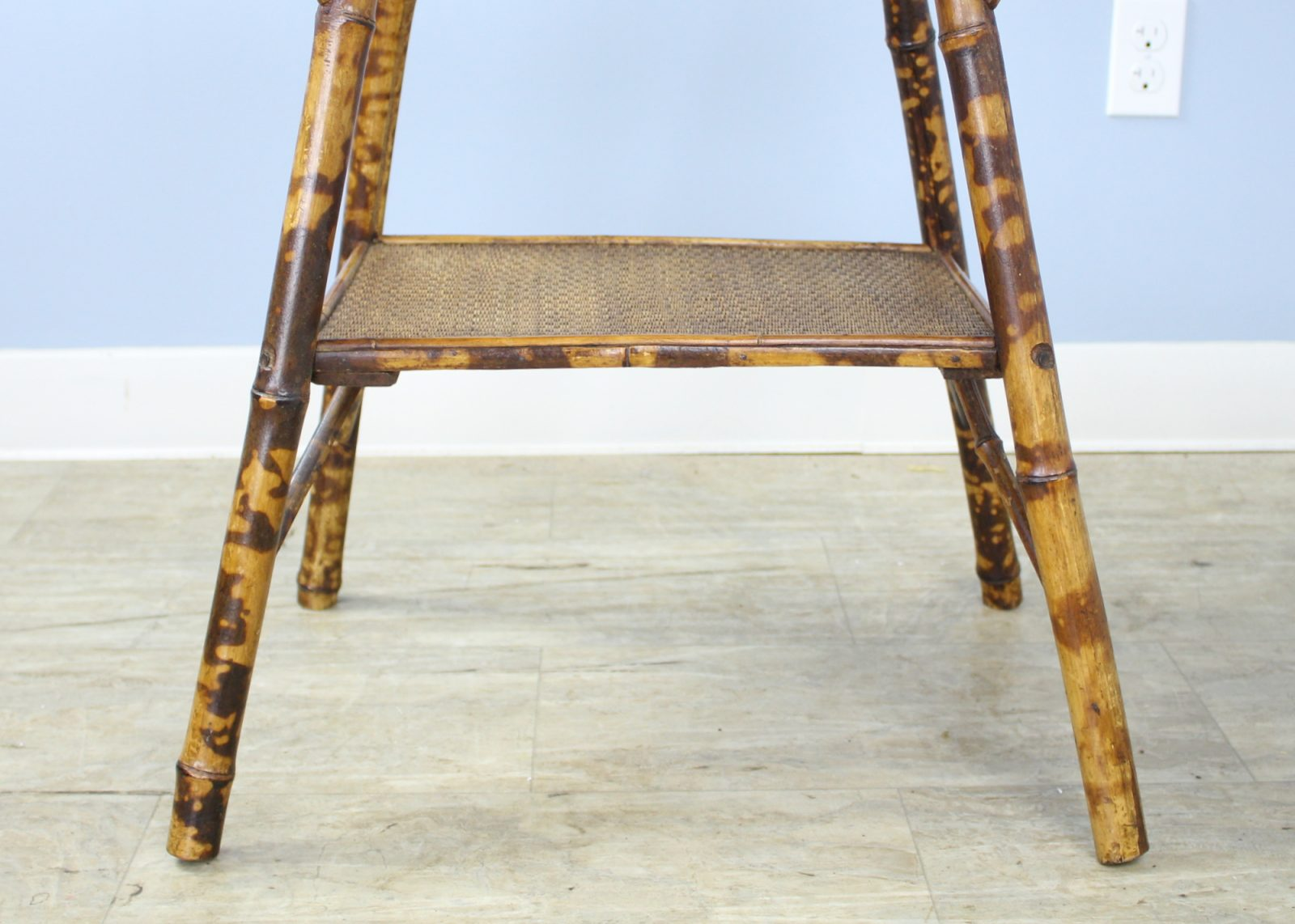 Antique English Bamboo Side Table Briggs House Antiques