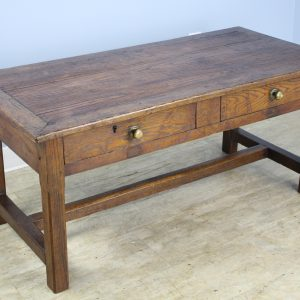 Antique French Pine and Oak Coffee Table