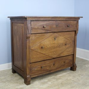 Antique Breton Chestnut Commode