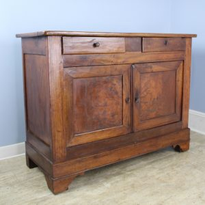 Antique Burr Elm Louis Philippe Buffet