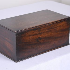Antique English Mahogany Box