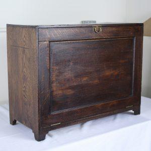 Antique Oak Shoe Box