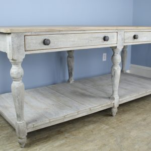 Large Antiques Painted Prep or Draper's Table
