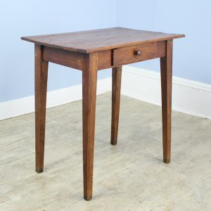 Rustic Antique Pine Side Table