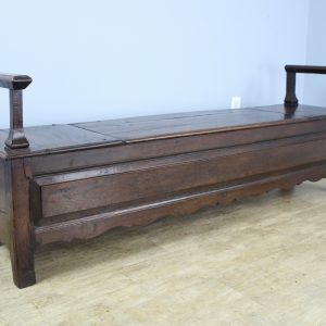 Early French Oak Coffer