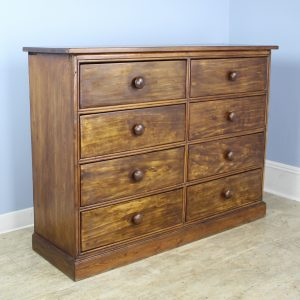 Country Pine Bank of 8 Drawers